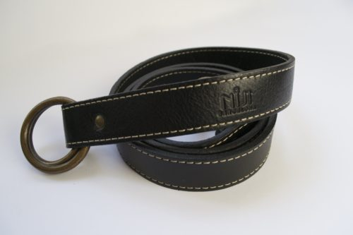 3) bandolier belt black